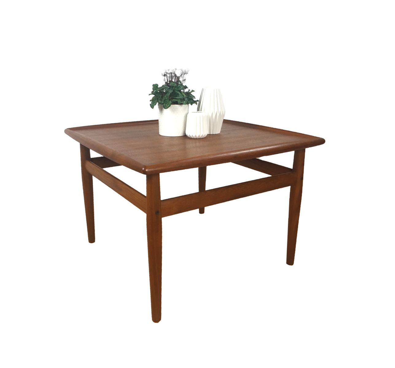 Antique Teak Coffee Table: Vintage Teak Coffee Table By Grete Jalk For Glostrup